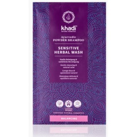 KHADI Shampoing en poudre Ayurvédique BIO 50g