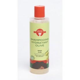 CRAZY POUSS Shampoing hydratant à l'olive 250ml