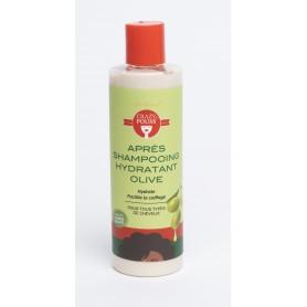 Après-Shampoing hydratant à l'olive 250ml