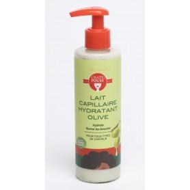 CRAZY POUSS Lait capillaire hydratant à l'olive 250ml
