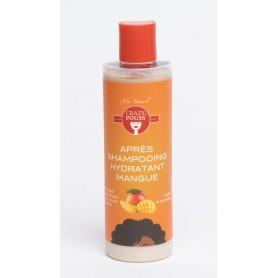 CRAZY POUSS Après-shampoing hydratant à la mangue 250ml