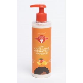 CRAZY POUSS Lait capillaire hydratant à la mangue 250ml