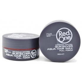 RED ONE Cire capillaire RED ONE QUIKSILVER AQUA HAIR WAX 150ml