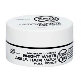 RED ONE Cire capillaire RED ONE BRIGHT WHITE AQUA HAIR WAX 150ml