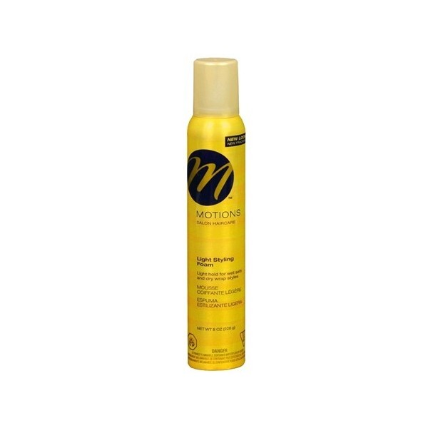 MOTIONS Mousse coiffante légère (Styling foam) 226g