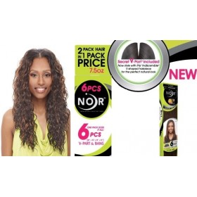 Noir tissage PACIFIC WEAVE 6 PCS (V Part)