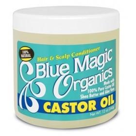 BLUE MAGIC Brillantine à l'huile de RICIN 340g