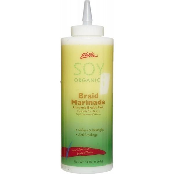 ELENTEE Démêlant Braid Marinade 398g (Soy Organics)
