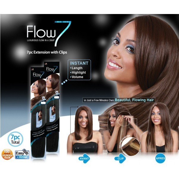 Bobbi Boss Extensions Clip FLOW 7