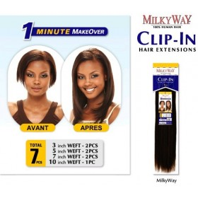 MILKYWAY Extensions CLIPS 7 PCS European ST