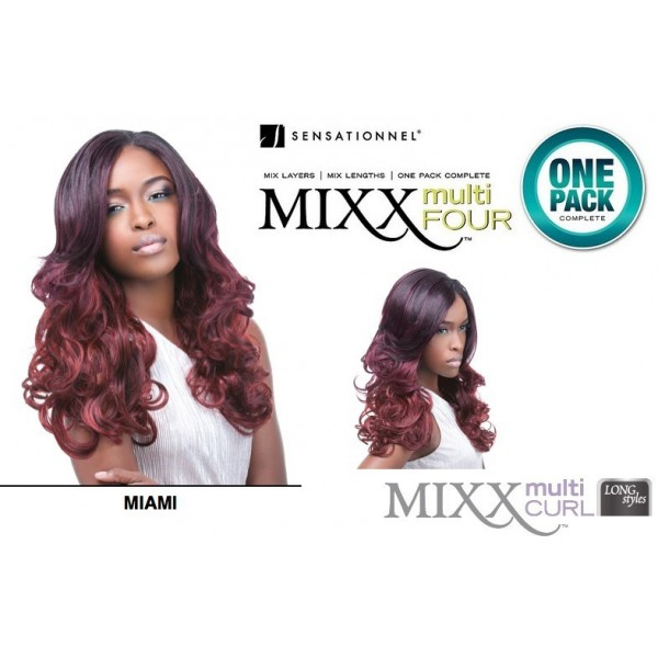SENSATIONNEL tissage MIAMI 4PCS (Mixx)