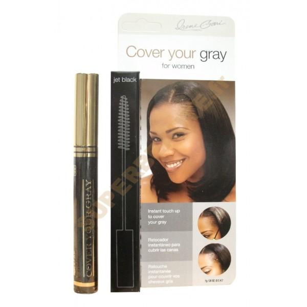 Hair Colouring Mascara 7g JET BLACK