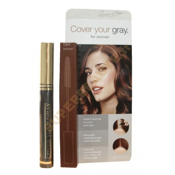 Mascara Coloration Cheveux 7g DARK BROWN