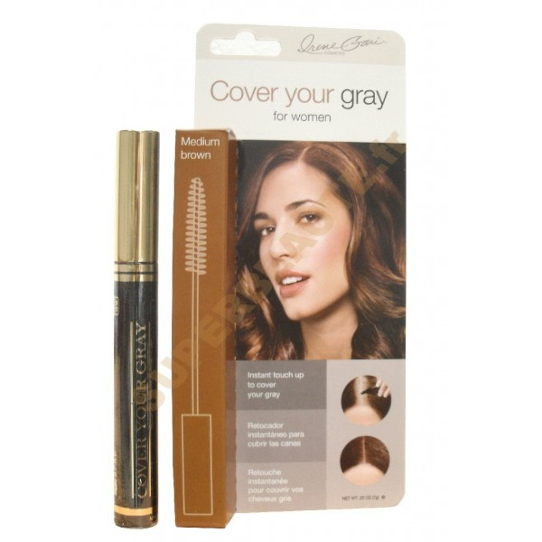 Mascara Coloration Cheveux 7g MEDIUM BROWN