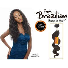 FEMI tissage brésilien NATURAL BODY WAVE