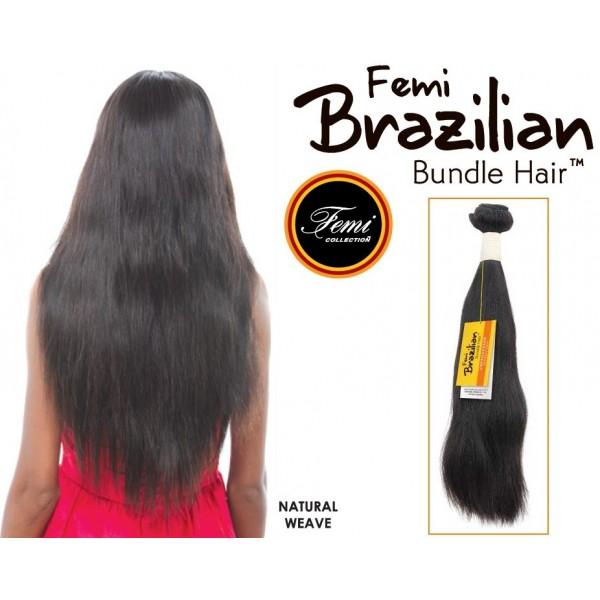 FEMI tissage brésilien NATURAL HAIR