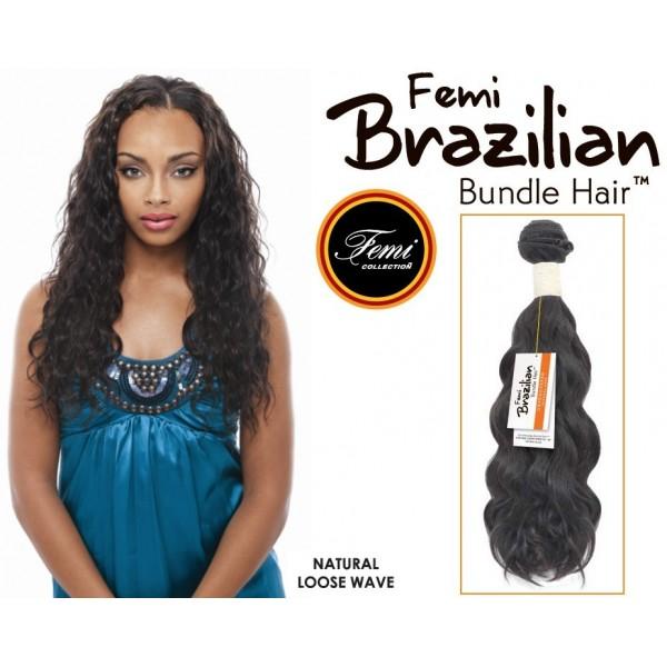 FEMI tissage brésilien LOOSE WAVE