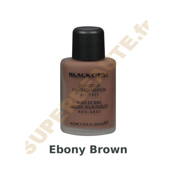 Fond de Teint Liquide 34.5ml EBONY BROWN
