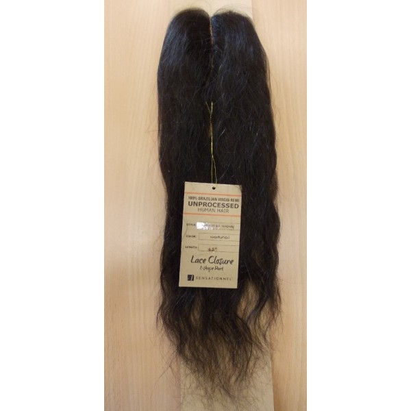 SENSAS Closure brésilien NATURAL WAVY 12'
