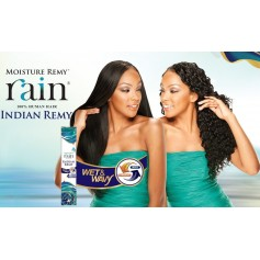 Milkyway tissage remy LONG DEEP 4 PCS (RAIN) *