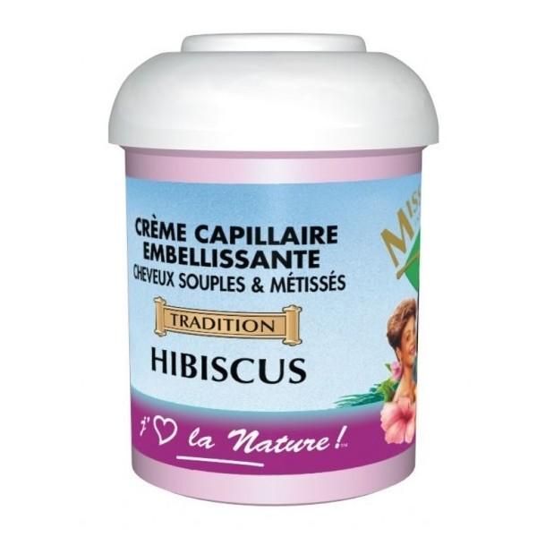 MISS ANTILLES Crème capillaire à la Fleur d'Hibiscus 125ml
