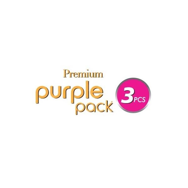 OUTRE tissage TWIN DEEP 3 PCS (Purple Pack)