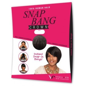 Vivica Fox frange à clip SNAP BANG Crown