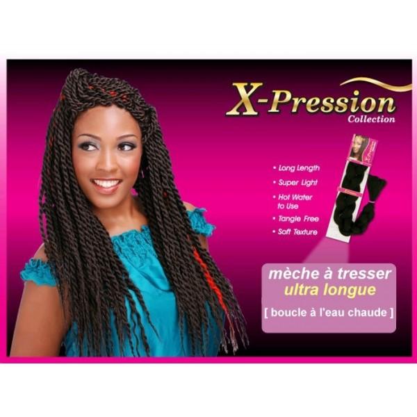 BIJOUX natte X PRESSION BRAID (Kanekalon)