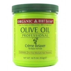 Organic Root Stimulator Crème défrisante Olive Oil Pro Normale 532g