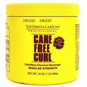 Care Free Curl Crème défrisante formule normale 400g