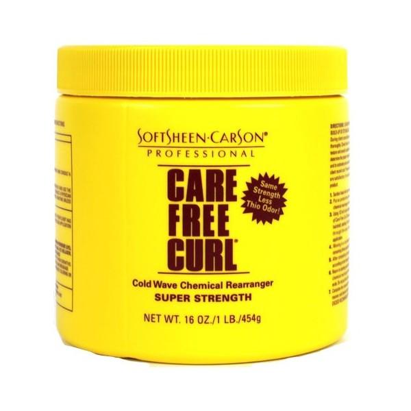 Care Free Curl Crème défrisante formule forte 400g