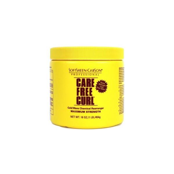 Care Free Curl Crème défrisante formule extra forte 400g