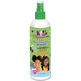 Organics for Kids Après-shampooing démélant à l'huile d'olive (Detangler) 355ml