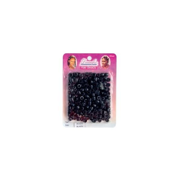 Perles plastique noir x 200