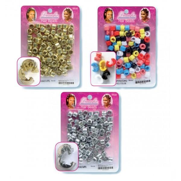 Dream Fx Perles plastique à clip x 200