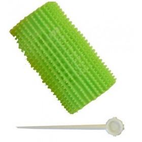 STOHR Rouleaux bigoudis professionnels Vert x5