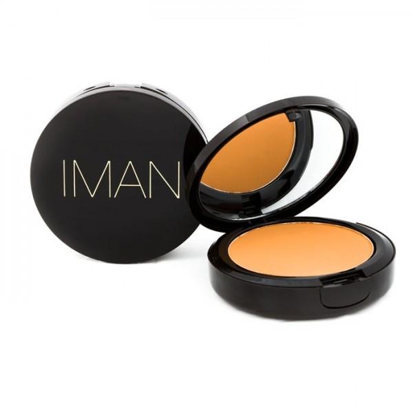 Iman Poudre compacte Luxury 10g Clay medium dark