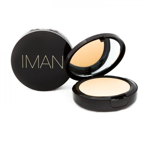 Iman Poudre compacte Luxury 10g Sand light medium