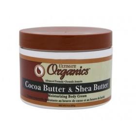 Organics by Africa's Best Crème hydratante beurre de karité et de cacao 227g (Cocoa Butter & Shea Butter)