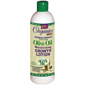 Organics by Africa's Best Olive Oil Moisturizing Growth Lotion 355ml (olive oil growth lotion)