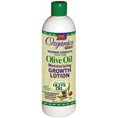 Organics by Africa's Best Lotion de croissance hydratante à l'huile d'olive 355ml (olive oil growth lotion)