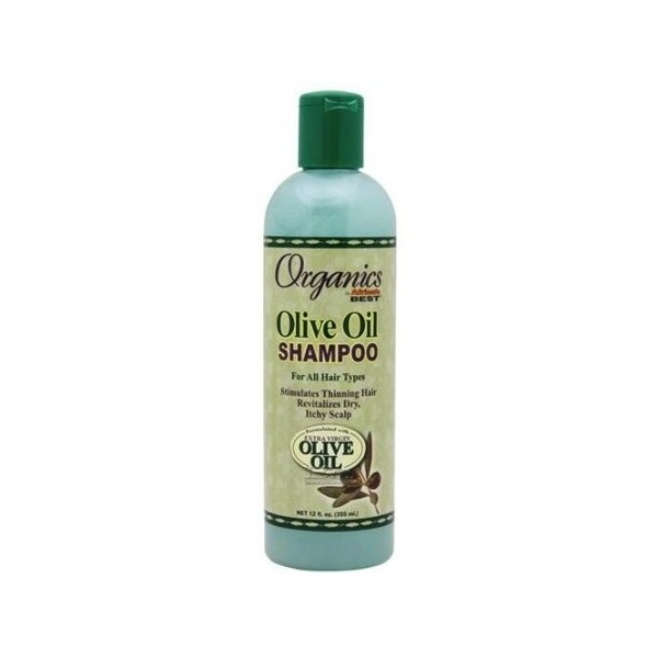 Organics by Africa's Best Shampooing à l'huile d'olive 355ml (Olive Oil shampoo)