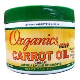 Organics Africa's Best Crème à l'huile de carotte 213g (Carrot oil)