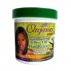 Organics by Africa's Best Soin défrisant à l'huile d'olive SUPER 426g (Olive Oil Hair Relaxer)