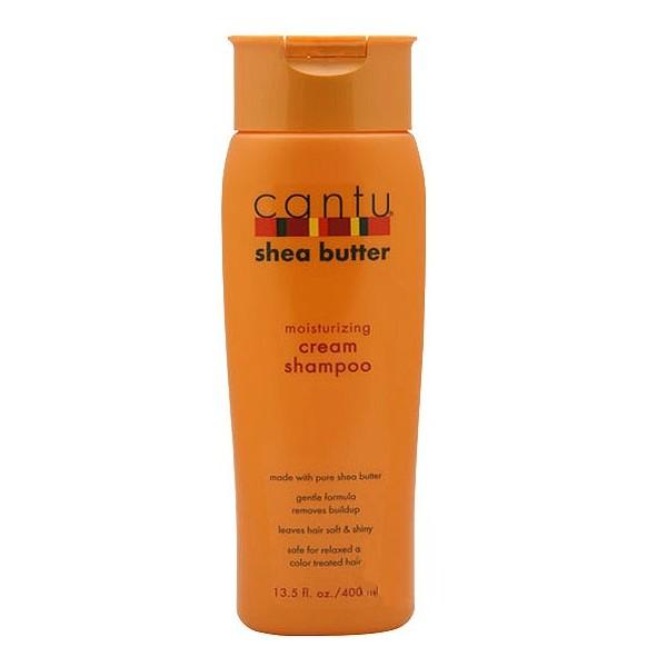 CANTU Shampoing crème hydratant au beurre de karité 400ml (cream shampoo)