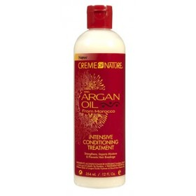 CREME OF NATURE Soin intensif à l'huile d'argan 354ml (Intensive conditioning treatment)