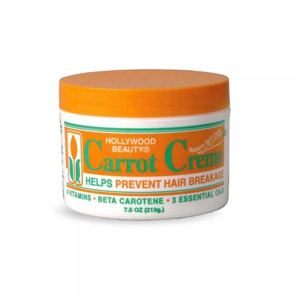 Hollywood Beauty Crème capillaire à la carotte 213g (Carrot creme)