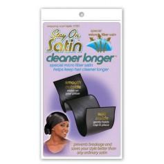Bonnet nuit Wrapping Scarf Black Cleaner Longer 11701