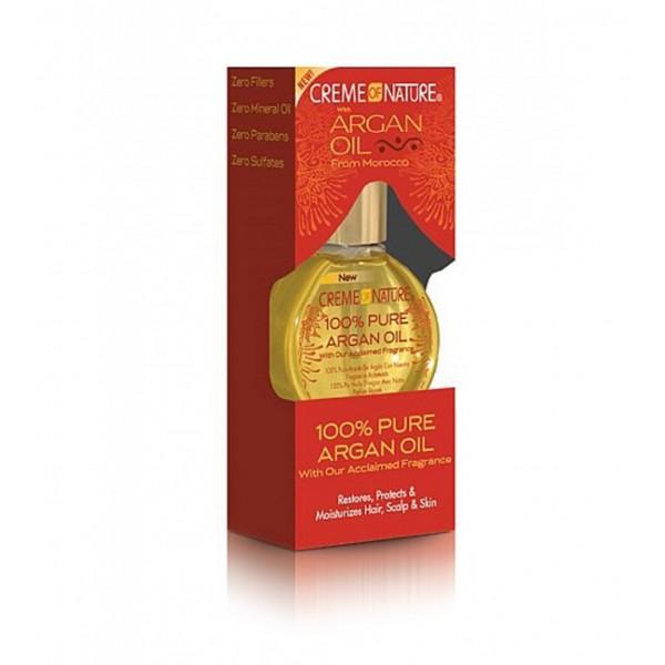 Creme of Nature Huile de beauté 100% pure huile d'Argan 29ml