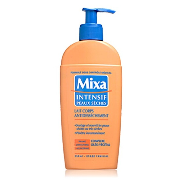 "MIXA Lait corps antidessèchement 250ml ""Mixa intensif"""